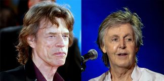Mick Jagger e Paul McCartney