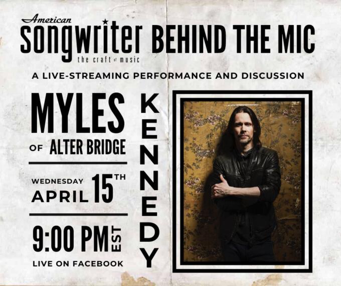 Myles Kennedy ao vivo no Facebook