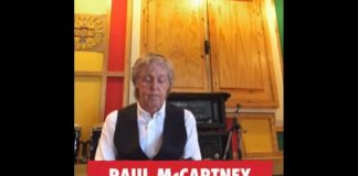 Paul McCartney no Together At Home