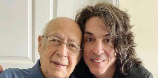 Paul Stanley com o pai