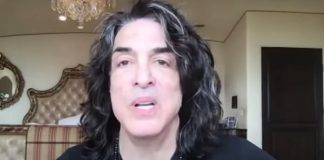 Paul Stanley no talk show de Richard Marx