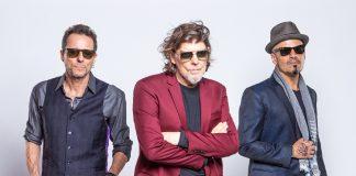 Titãs (Tony Bellotto, Branco Mello e Sérgio Britto)