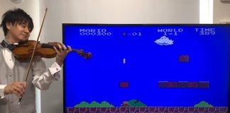 Violinista Mario Bros