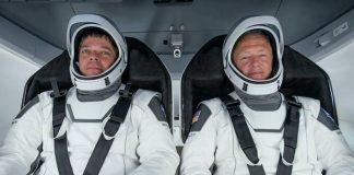 Bob Behnken e Doug Hurley, astronautas que decolaram na SpaceX