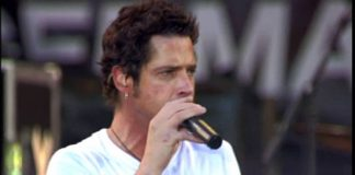 Chris Cornell com o Audioslave no Live 8 de 2005
