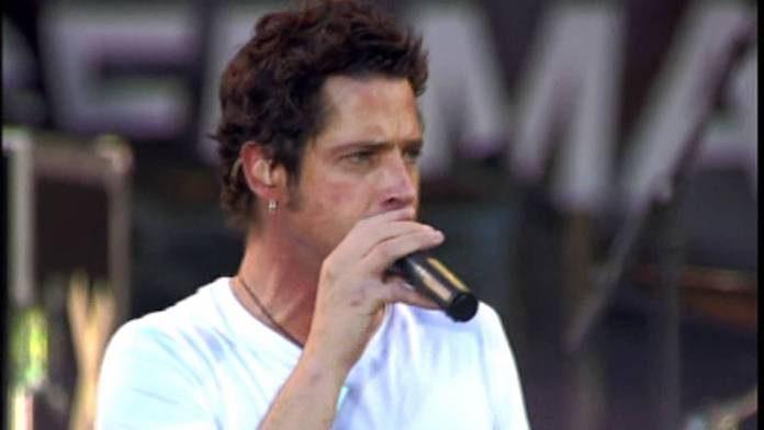 Chris Cornell com o Audioslave no Live 8 de 2005