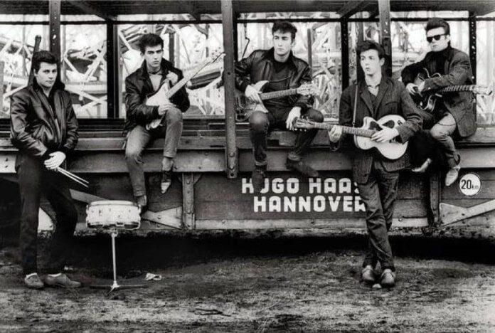 The Beatles por Astrid Kirchherr