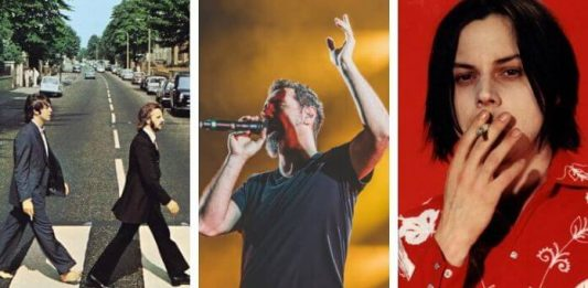 Beatles, System Of A Down e White Stripes
