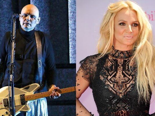 Billy Corgan e Britney Spears