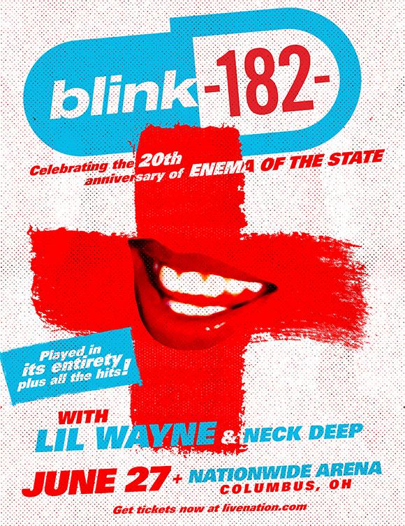 Pôster do blink-182