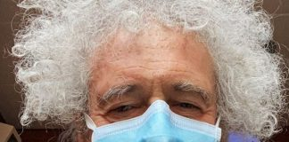 Brian May (Queen) no Hospital