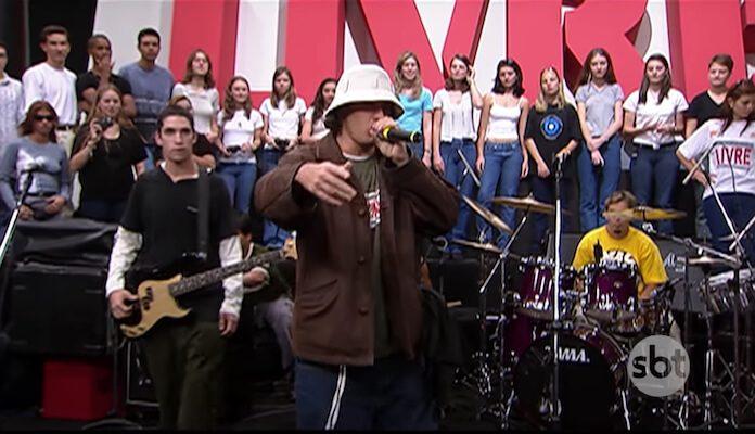 Charlie Brown Jr. no Programa Livre em 1999
