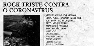 """Conheça a coletânea beneficente """"Rock Triste Contra o Coronavírus"""""""