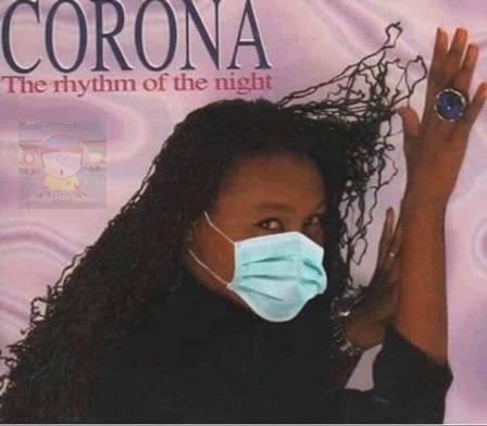 Meme da cantora Corona
