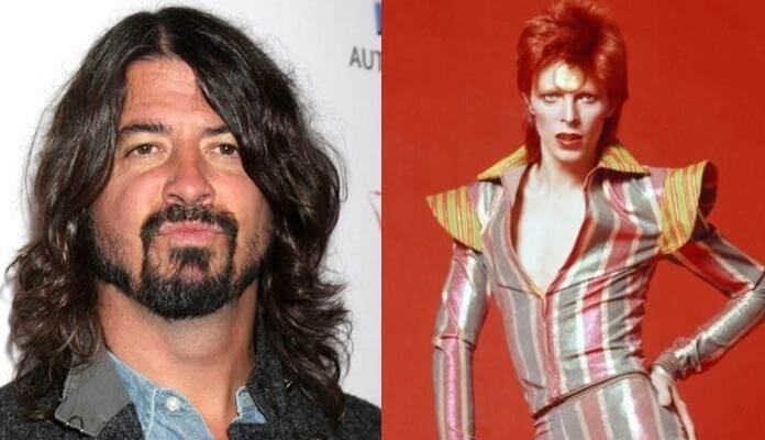 Dave Grohl e David Bowie
