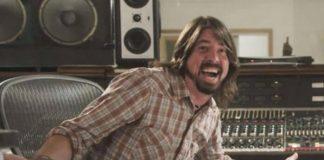 Dave Grohl em estúdio