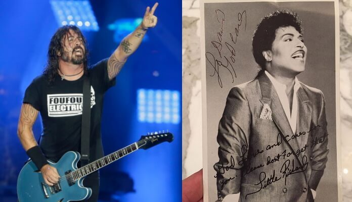 Dave Grohl e Little Richard
