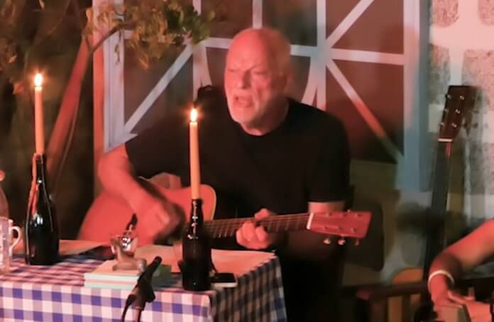 Pink Floyd: David Gilmour toca Syd Barrett