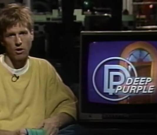 Notícia do Deep Purple nos Anos 80