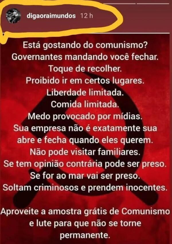 Digão e o Comunismo