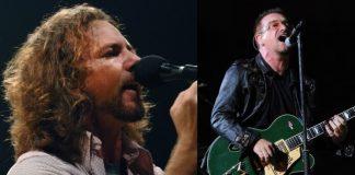 Eddie Vedder (Pearl Jam) e Bono