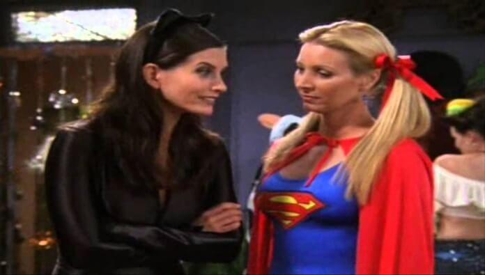Monica e Phoebe em Friends