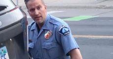 Derek Chauvin, acusado pelo homicídio de George Floyd
