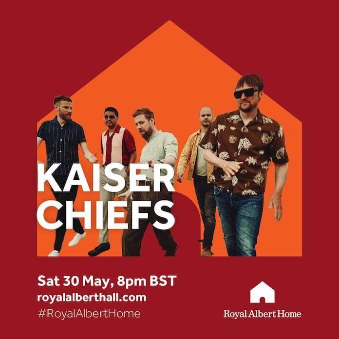 Kaiser Chiefs anuncia live