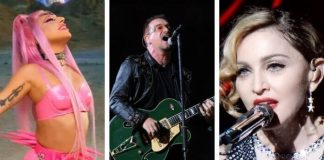 Lady Gaga, Bono e Madonna