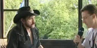 Lemmy Kilmister em entrevista sobre política