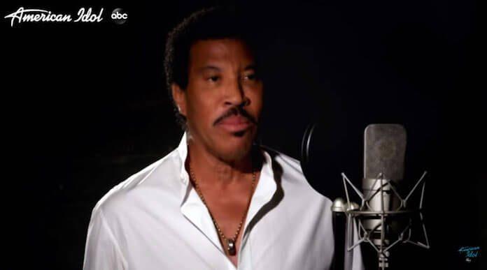 Lionel Richie na versão 2020 de