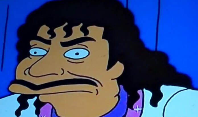 Little Richard em Os Simpsons