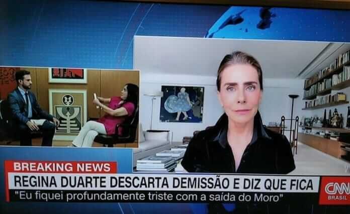 Maitê Proença e Regina Duarte