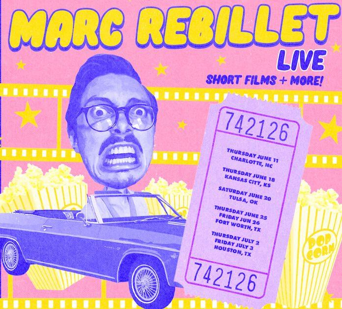 Marc Rebillet anuncia turnê drive-in
