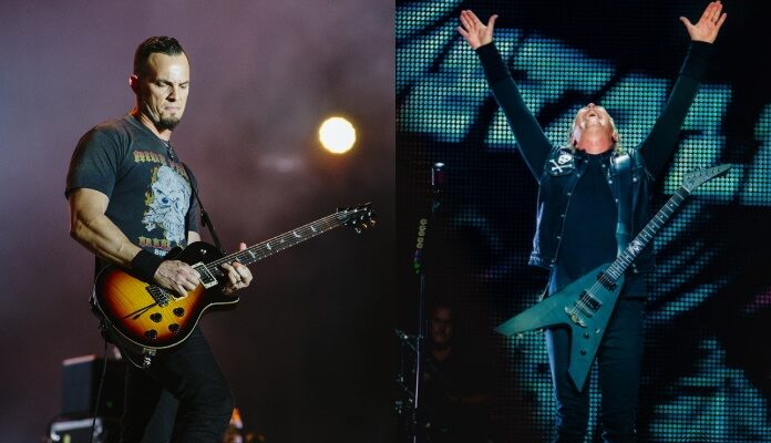 Mark Tremonti e James Hetfield