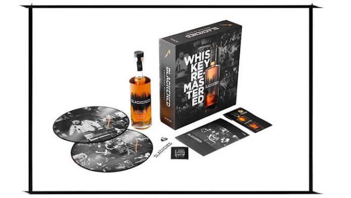 Metallica, edição Batch 100 do whiskey Blackened