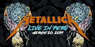 Metallica ao vivo no Peru, em 2014