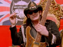 Lemmy, do Motorhead, em cover do Sex Pistols