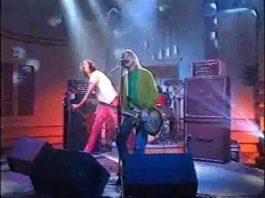 "Nirvana - ""Territorial Pissings"" no Jonathan Ross Show"