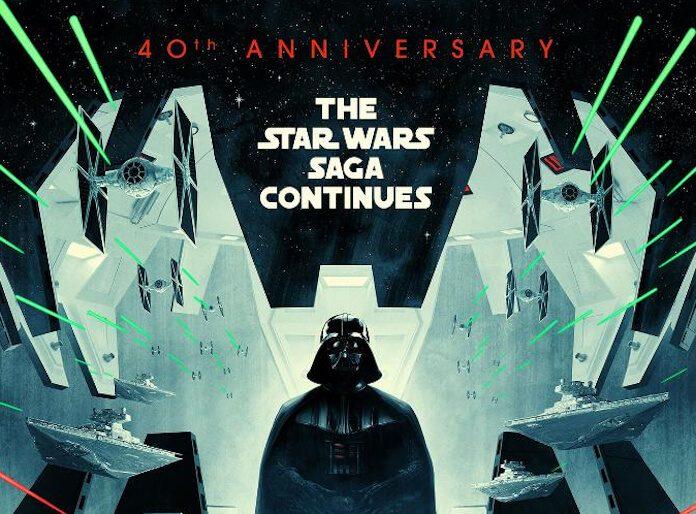 Star Wars Episódio V - 40 anos