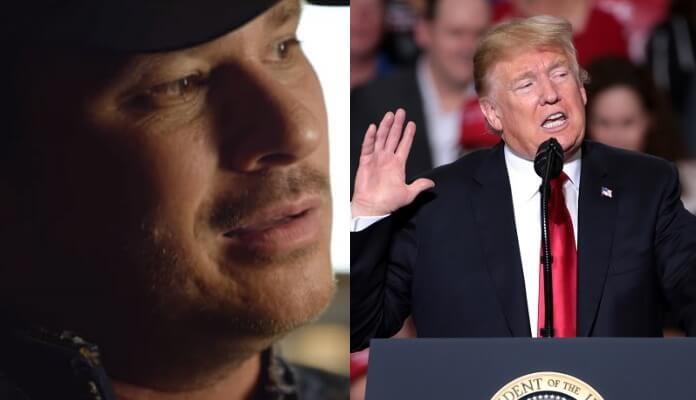 Tom DeLonge e Donald Trump