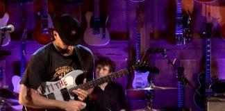 Tom Morello no Guitar Center