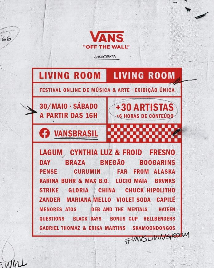 Festival online da Vans Brasil