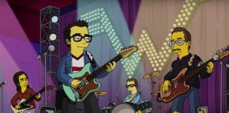 Weezer nos Simpsons