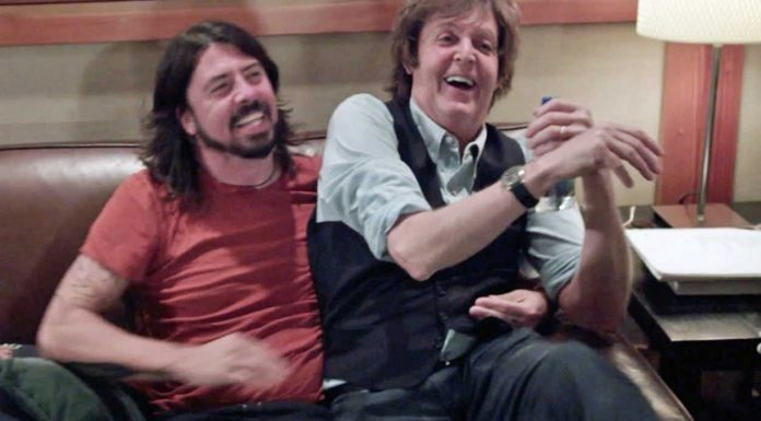 Dave Grohl e Paul McCartney