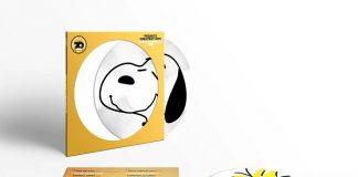 Disco de vinil do Snoopy