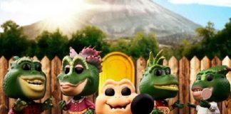A Família Dinossauros em bonecos Funko