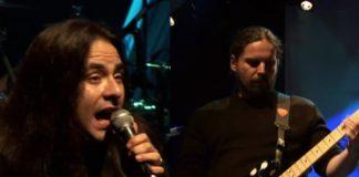 Andre Matos e Andreas Kisser no Irmandade do Blues