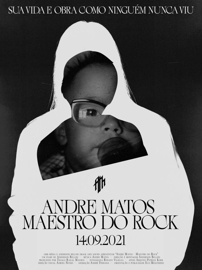 Cartaz de Andre Matos - O Maestro do Rock