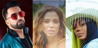 Latino, Anitta e Ludmilla